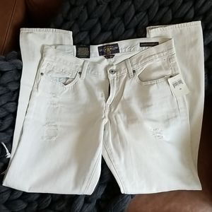NWT Lucky Brand Whitewash Jeans